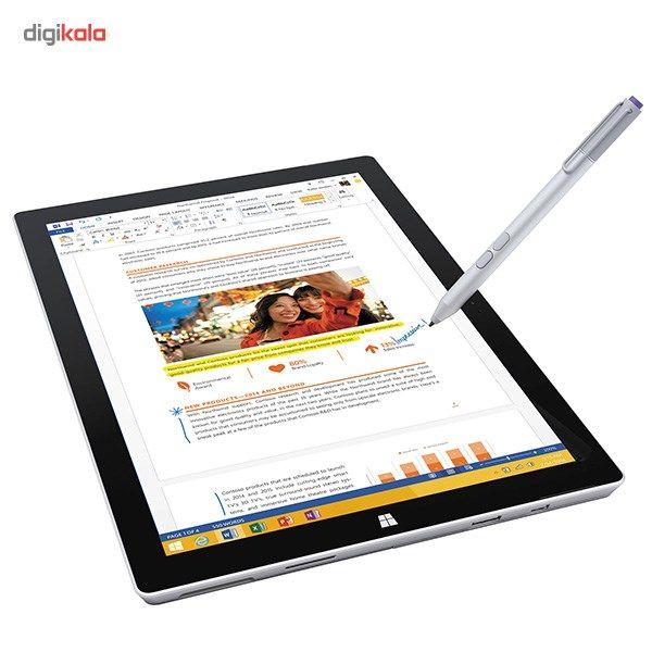 تبلت مایکروسافت مدل Surface Pro 3 - C به همراه کیبورد ظرفیت 256 گیگابایت
