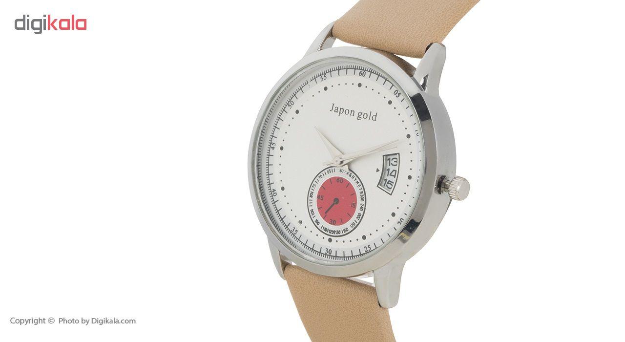 ساعت مچی عقربه ای ژاپن گلد مدل Zm03