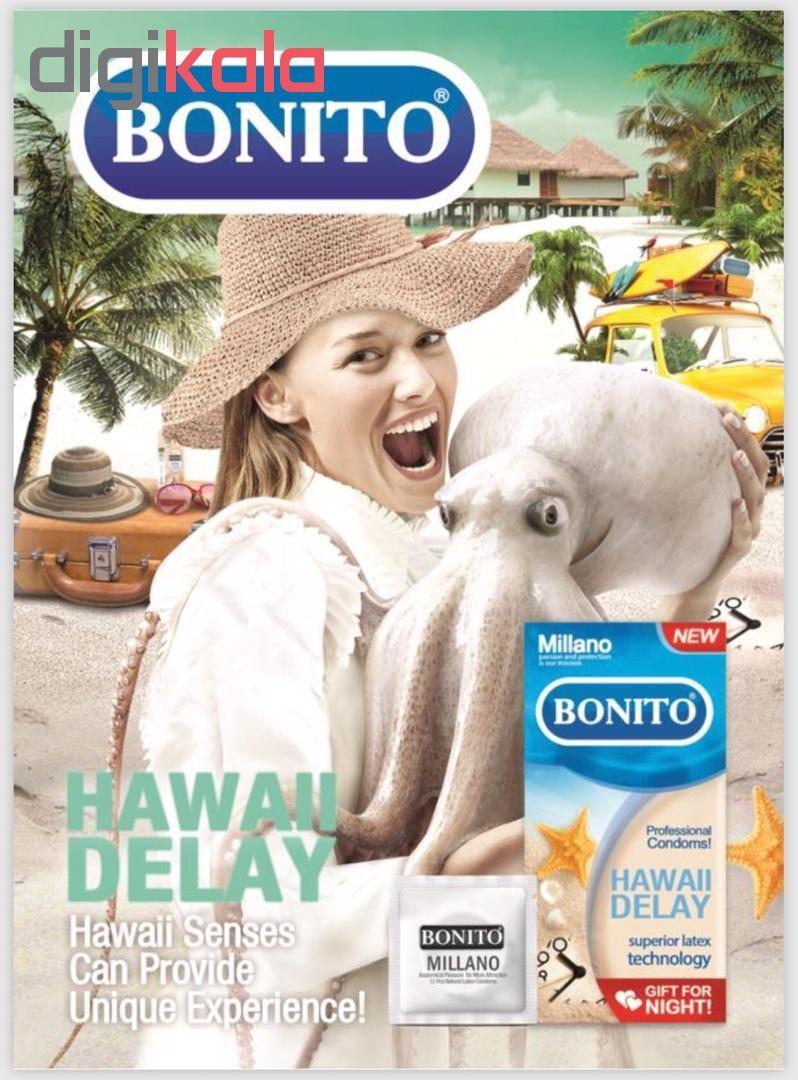 کاندوم تا خیری بونیتو مدل  Hawaii Delay بسته 16 عددی main 1 2