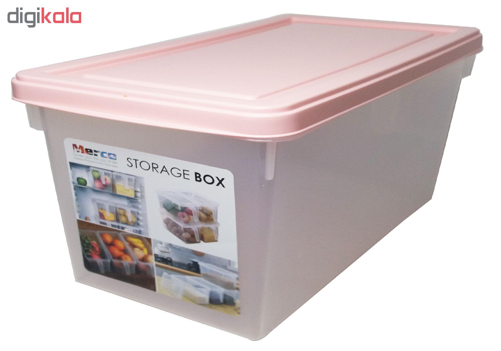 باکس نگهدارنده و نظم دهنده یخچال مدل مرسه main 1 3