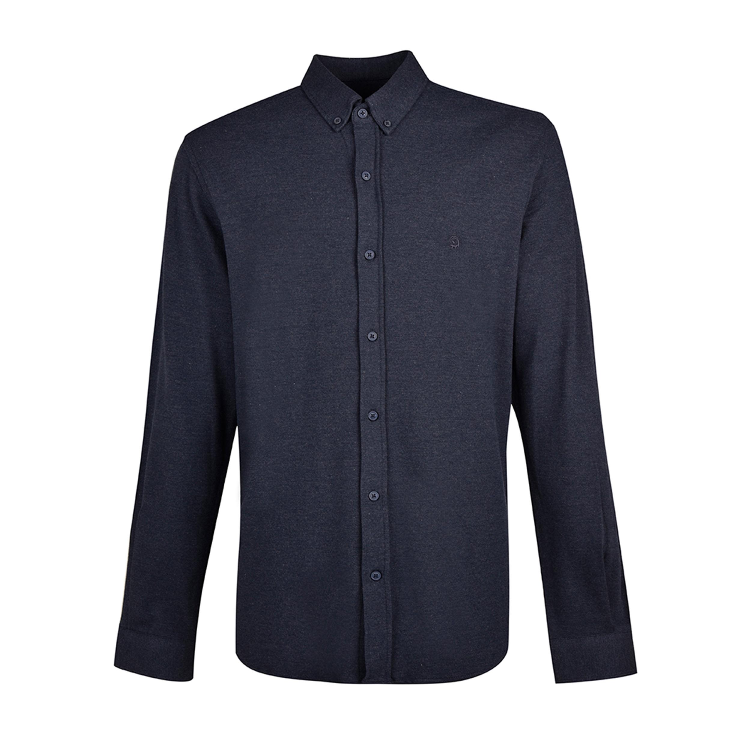 پیراهن آستین بلند مردانه بادی اسپینر مدل 1105 کد 1 رنگ سرمه ای