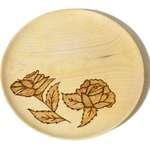 بشقاب چوبی طرح دار کد DSC04948