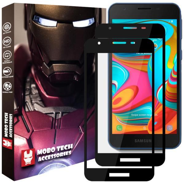 محافظ صفحه نمایش موبو تک مدل SSG-SA2CR-2 مناسب برای گوشی موبایل سامسونگ Galaxy A2 Core بسته دو عددی