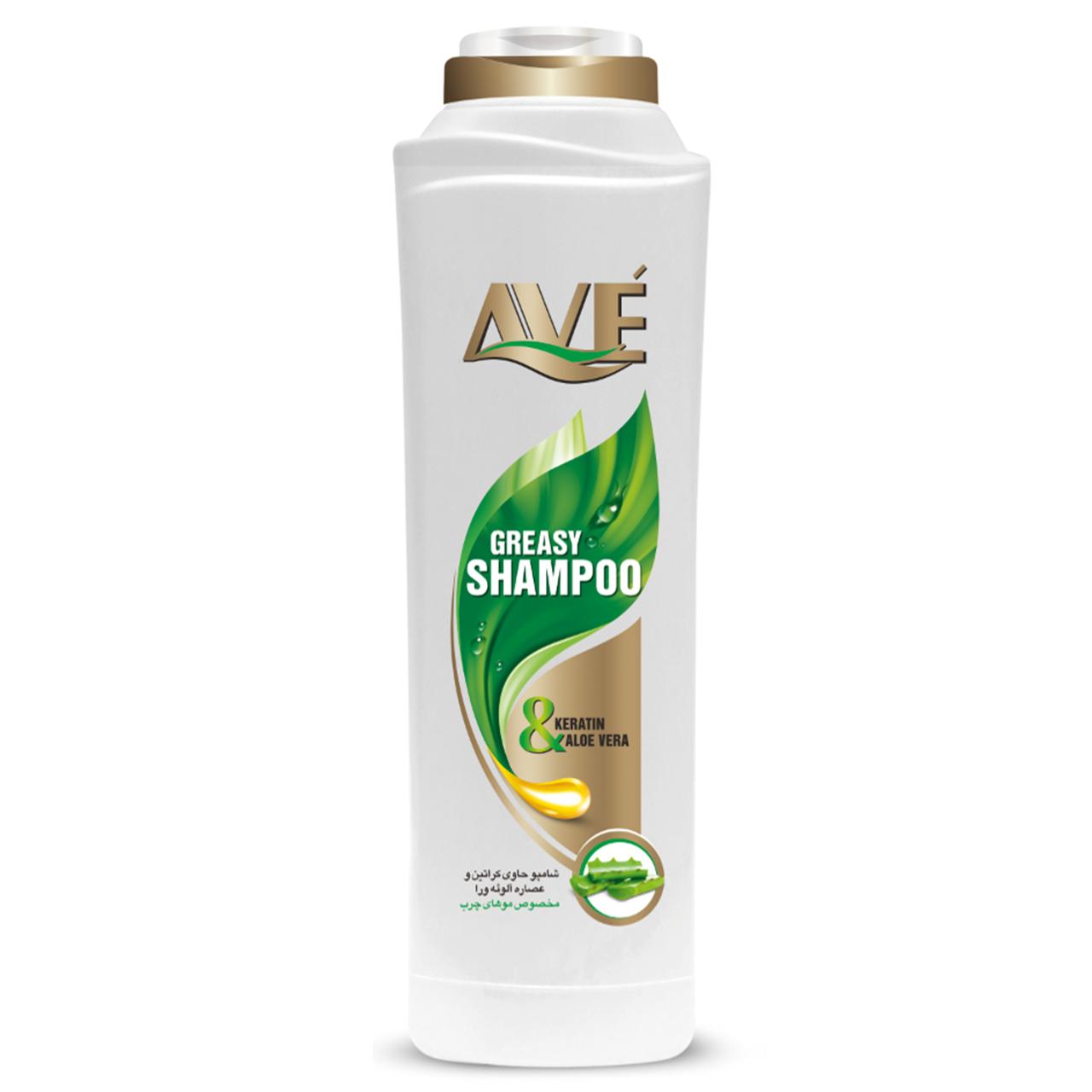 شامپو موهای چرب سبز اوه مقدار 400 گرم