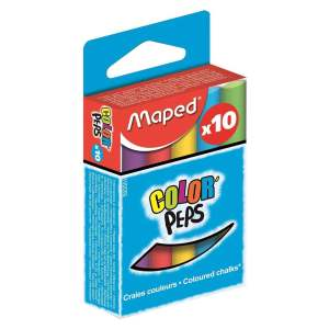 گچ رنگی مپد مدل Color Peps  بسته ۱۰ عددی