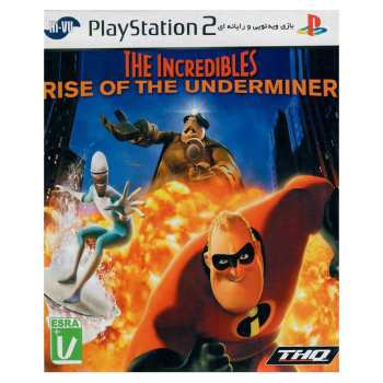 بازی The Incredibles مخصوص PS2