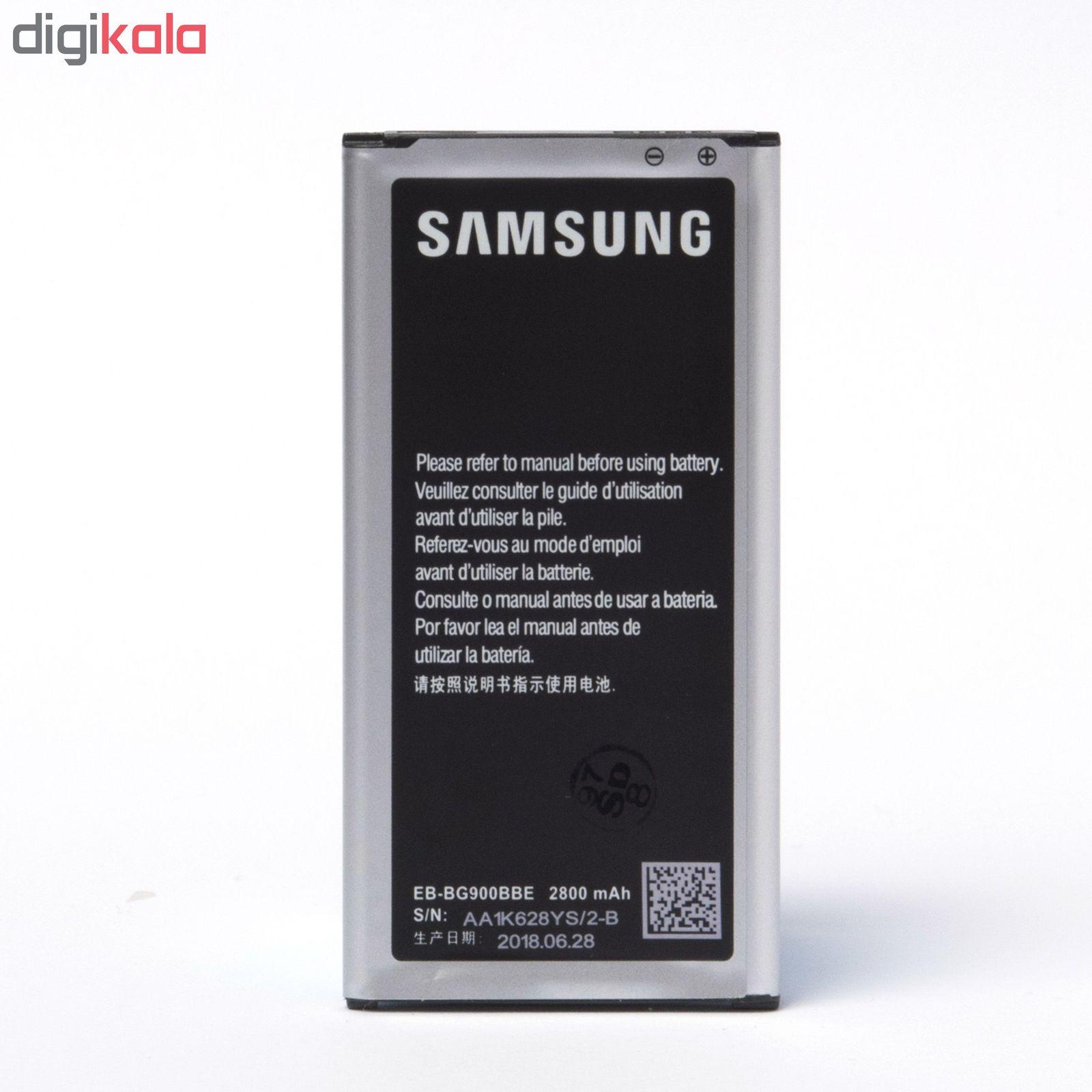باتری موبایل مدل Galaxy S5 با ظرفیت 2800mAh مناسب برای گوشی موبایل سامسونگ Galaxy S5 main 1 3