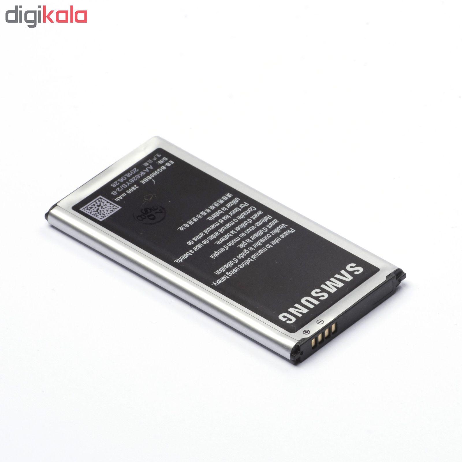 باتری موبایل مدل Galaxy S5 با ظرفیت 2800mAh مناسب برای گوشی موبایل سامسونگ Galaxy S5 main 1 4