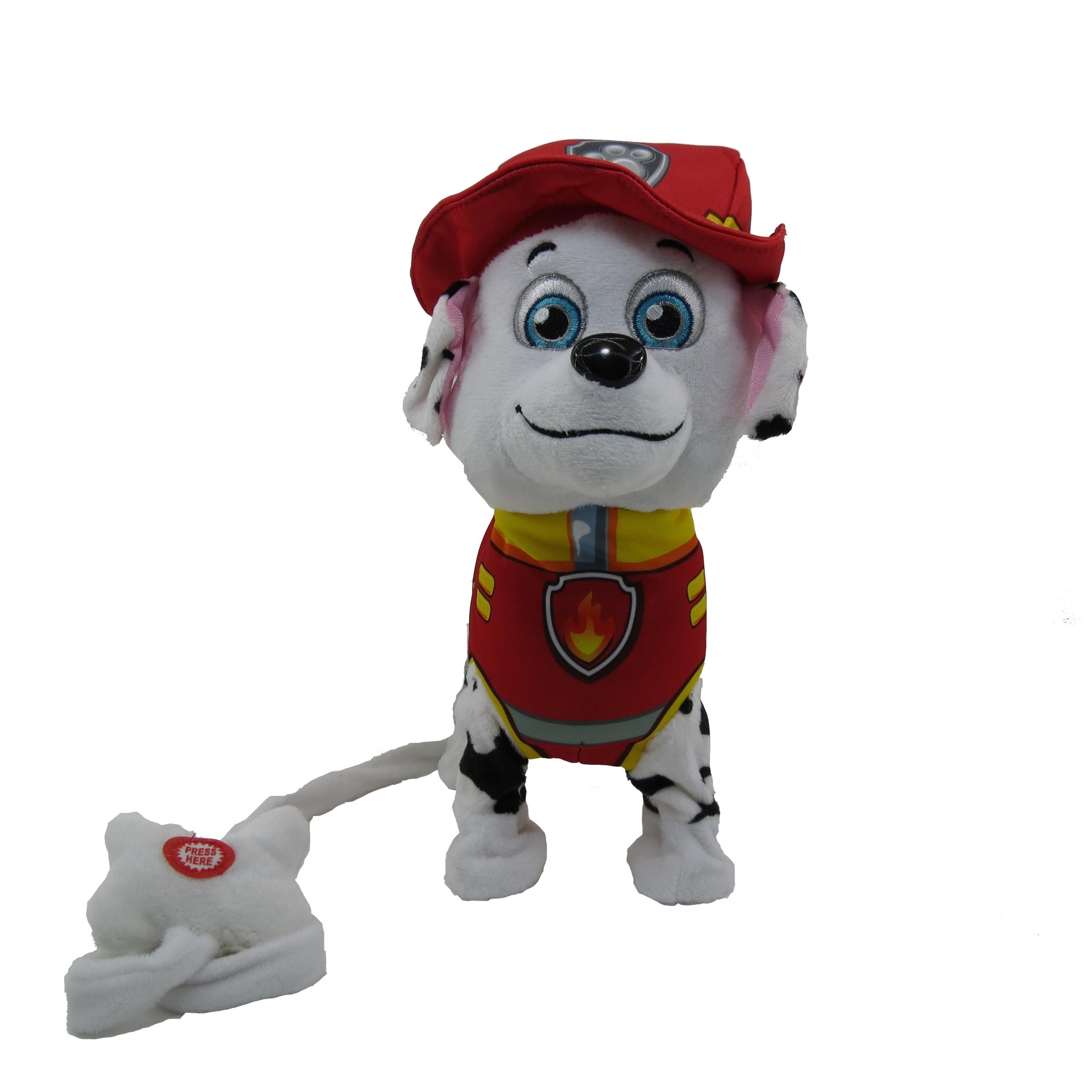 عروسک پاو پاترول سگهای نگهبان مدل Marshal  ارتفاع 25 سانتی متر