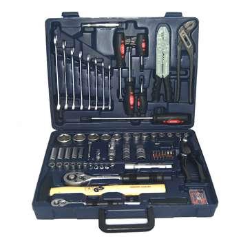 مجموعه 99 عددی ابزار دستی جی تی تی مدل TTK-10006 | GTT 32-27-54 99PCS Drawer Tool Set