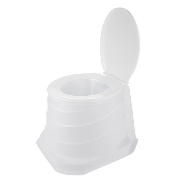 توالت فرنگی سیار سنی پلاستیک مدل الیزه