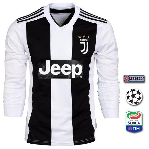 پیراهن ورزشی طرح رونالدو  مدل یوونتوس Sl-Home18/19 به همراه تگ