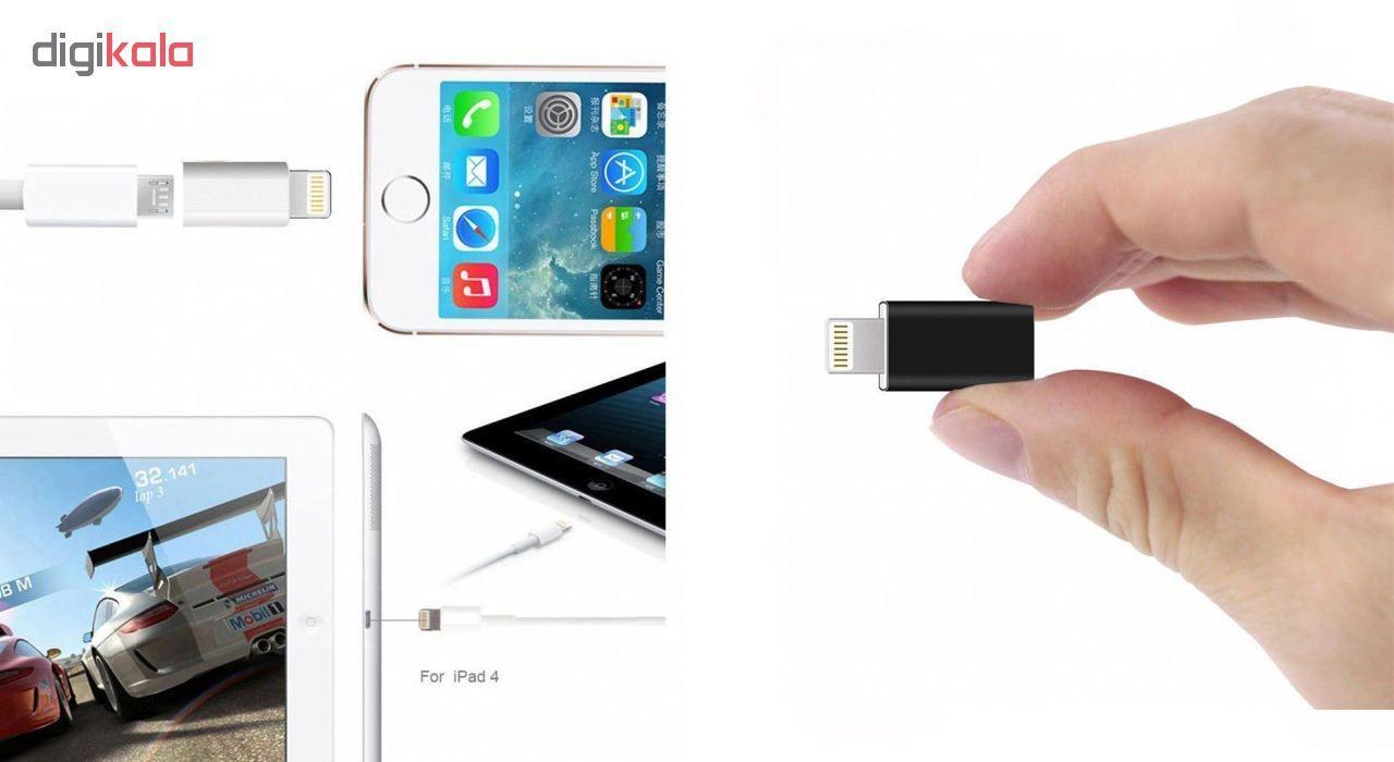 مبدل Micro USB به لایتنینگ مدل SMART main 1 2