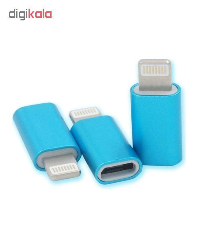 مبدل Micro USB به لایتنینگ مدل SMART main 1 4