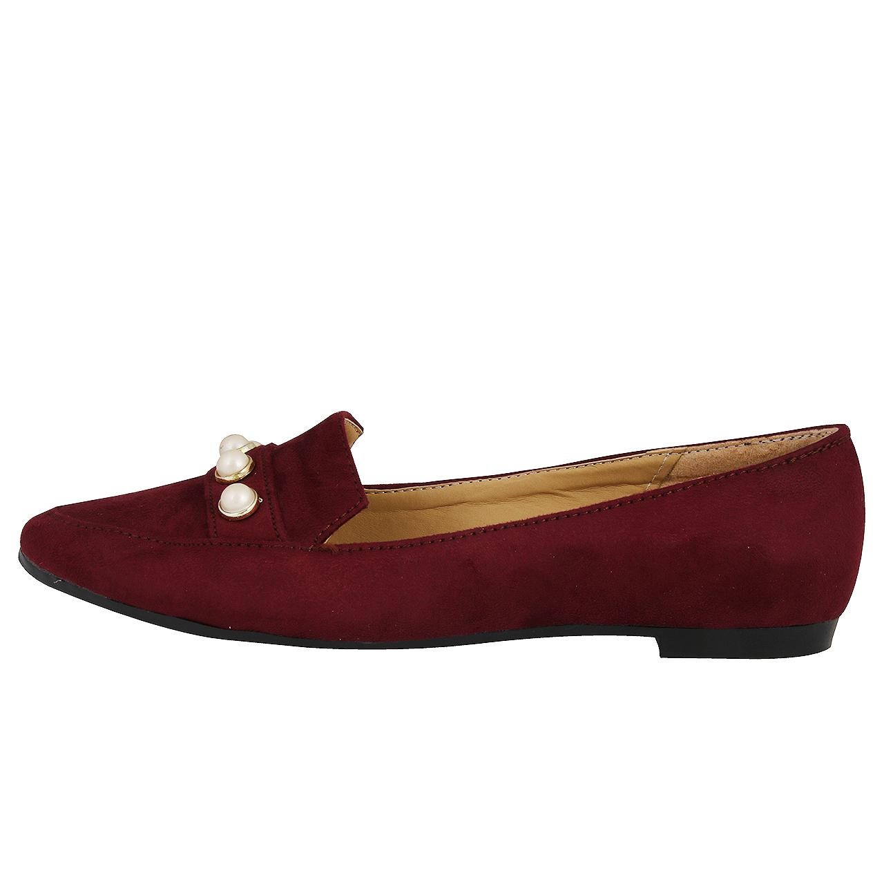 کفش زنانه طرح مروارید کد 159012518 |
