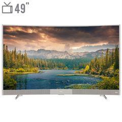 تلویزیون ال ای دی هوشمند خمیده تی سی ال مدل 49P3CF سایز 49 اینچ