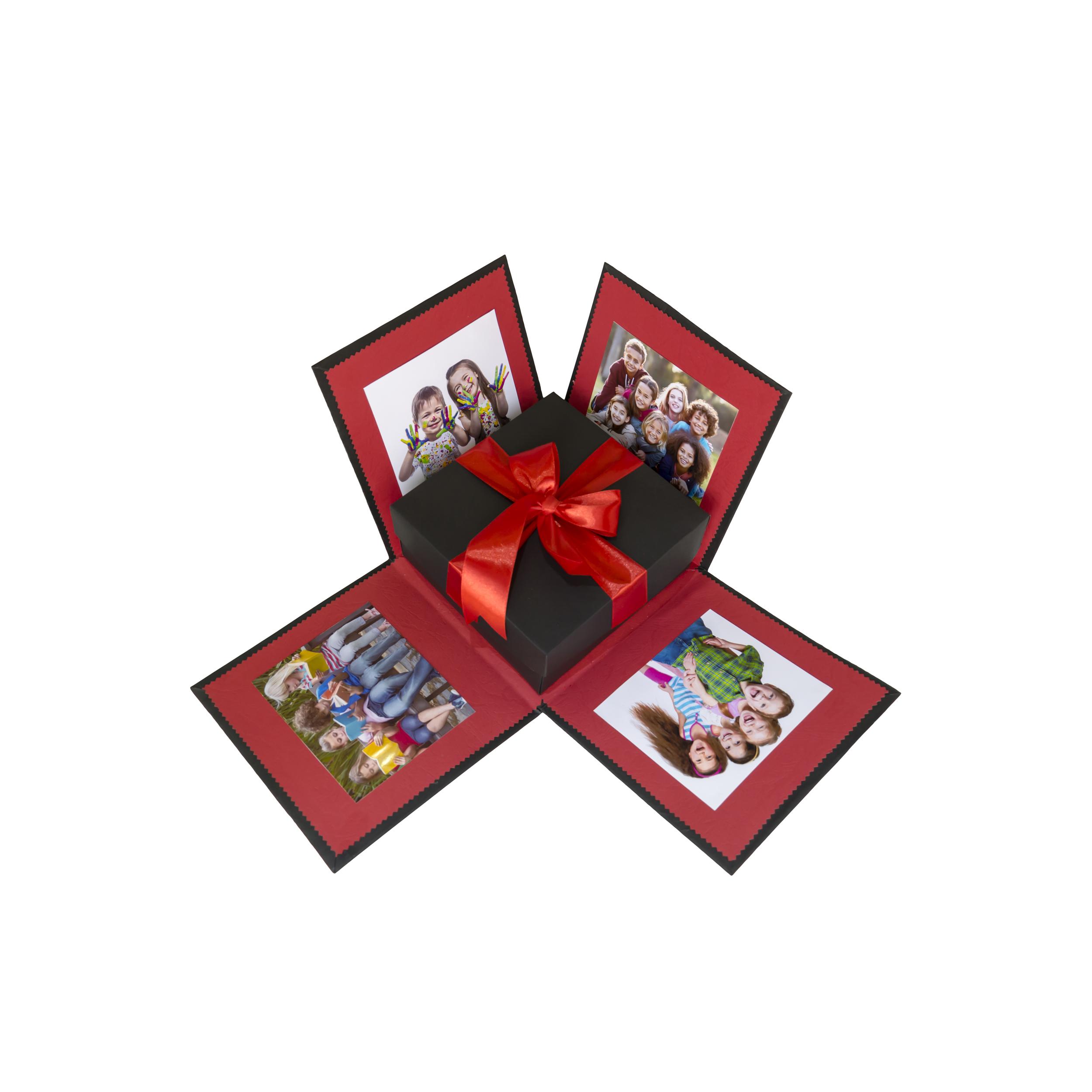 عکس جعبه کادو طرح آلبوم عکس کد 111010010 سایز کوچک
