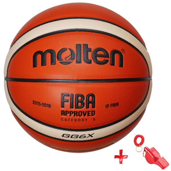 توپ بسکتبال مولتن مدل GG6X به همراه سوت ورزشی سایز 6