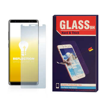 محافظ صفحه نمایش مات مدل Hard and thick مناسب برای گوشی موبایل سامسونگ Galaxy note 8