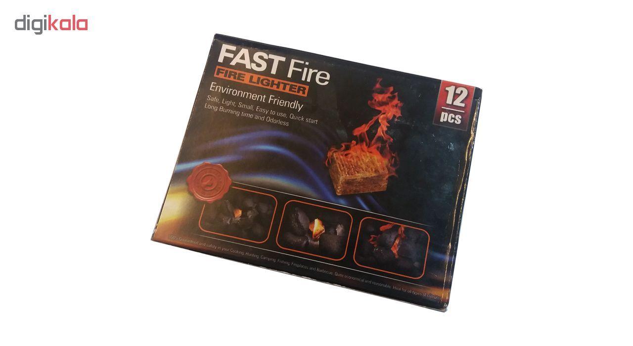 آتشزنه قست فایر  مدل  T12 بسته 12 عددی main 1 2