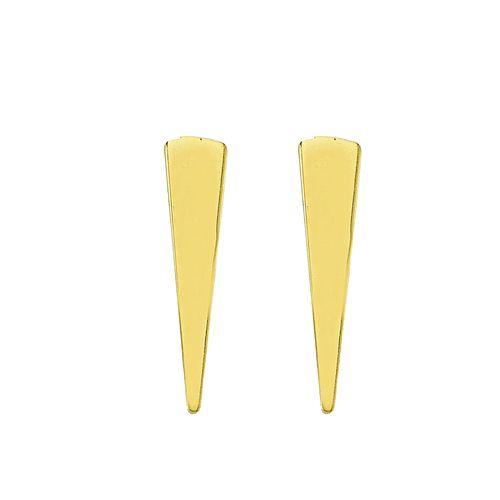 گوشواره طلا 18 عیار نیکان زر مدل GE121