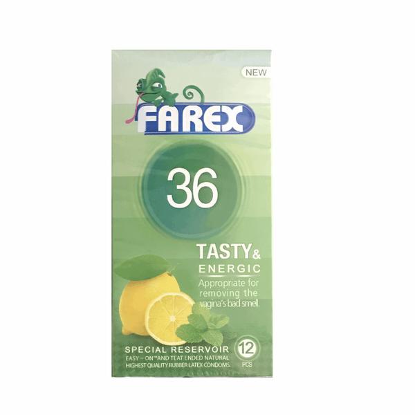 کاندوم فارکس مدل Tasty 36 بسته 12 عددی
