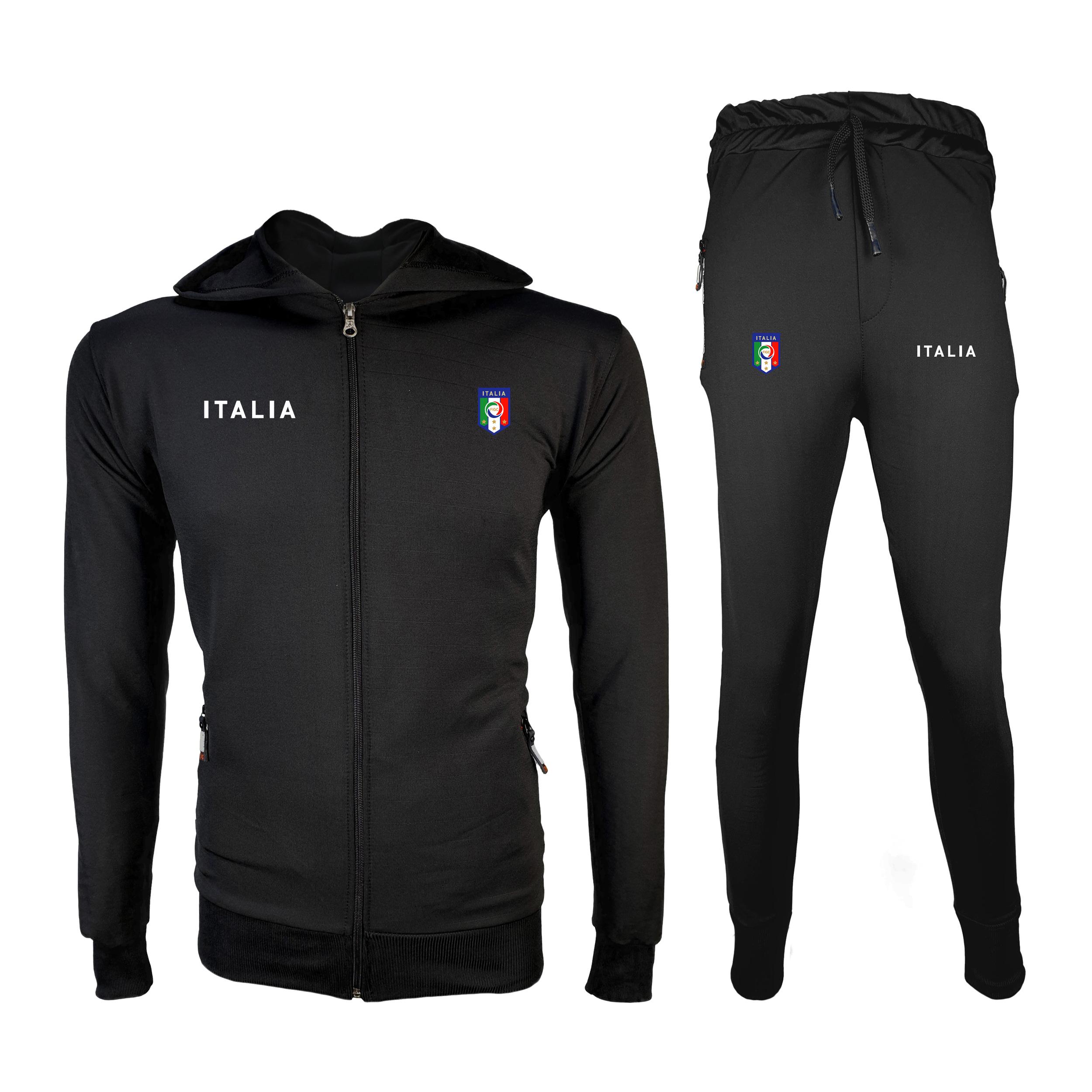 ست سویشرت و شلوار ورزشی مردانه پاتیلوک مدل ایتالیا کد 400134