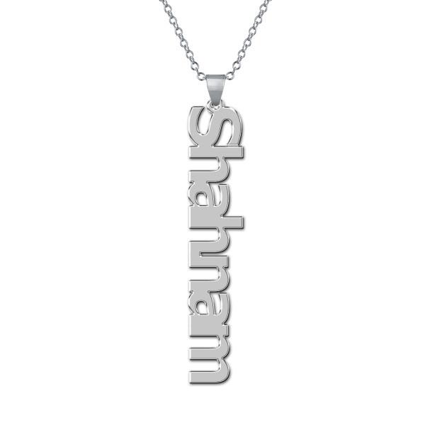 گردنبند نقره طرح شهنام کد AC 118
