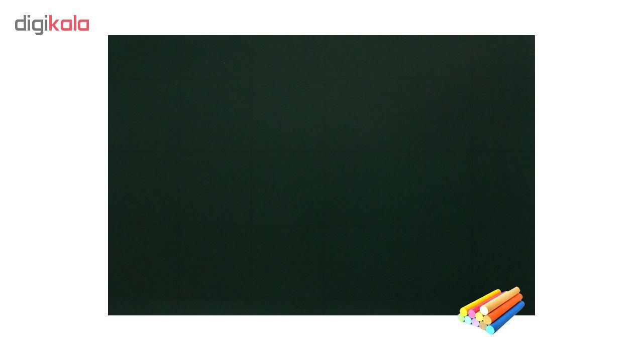 روکش وایت برد سبز مدل 109 آنتی رفلکس نانو سایز  122×300 سانتی متر
