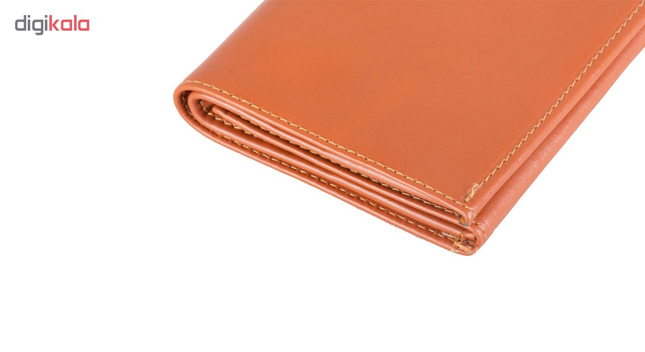 ZIOYK natural leather wallet, Model 004