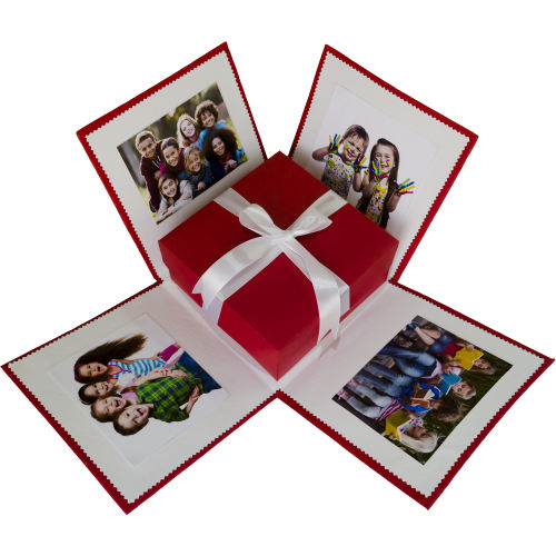 جعبه کادو مدل آلبوم عکس کد 010000000 سایز کوچک