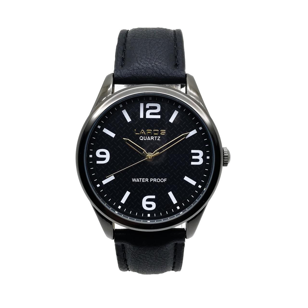 ساعت مچی عقربه ای مردانه لاروس مدل LM-A146-Black