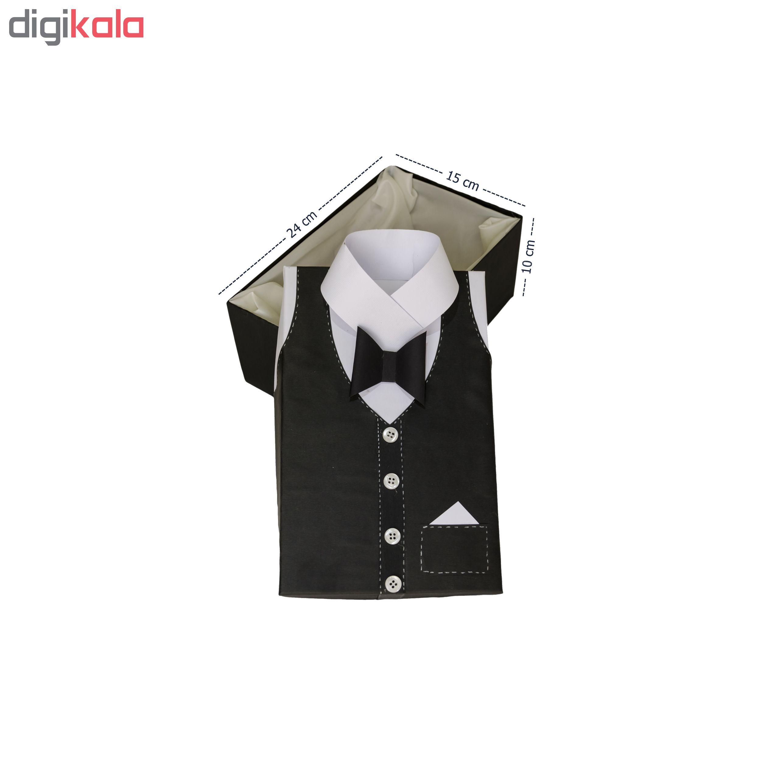 خرید                      جعبه هدیه طرح پیراهن مردانه سایز کوچک