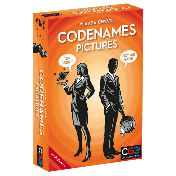بازی فکری سی جی ای مدل Codenames Pictures نسخه فارسی