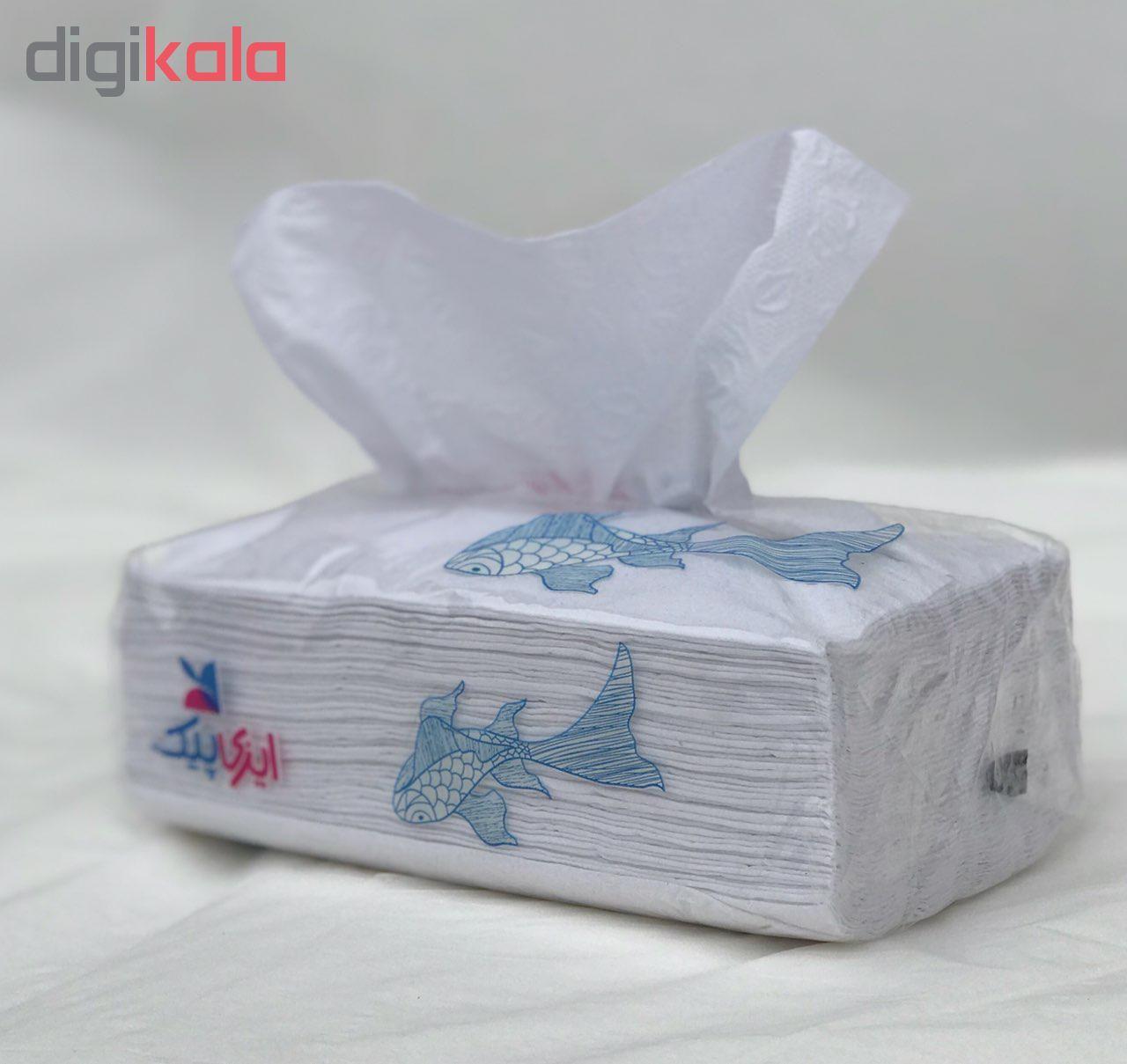 دستمال کاغذی 100 برگ ایزی پیک بسته 4 عددی main 1 2