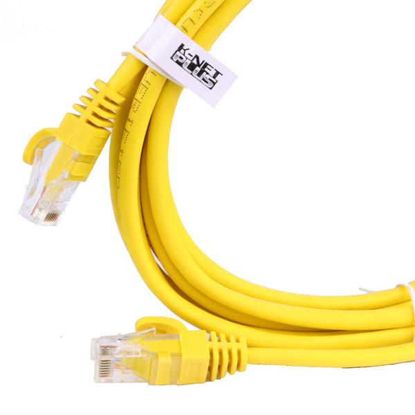 کابل شبکه کی نت پلاس  مدل CAT.5E UTP به طول 20 متر مدل RJ45