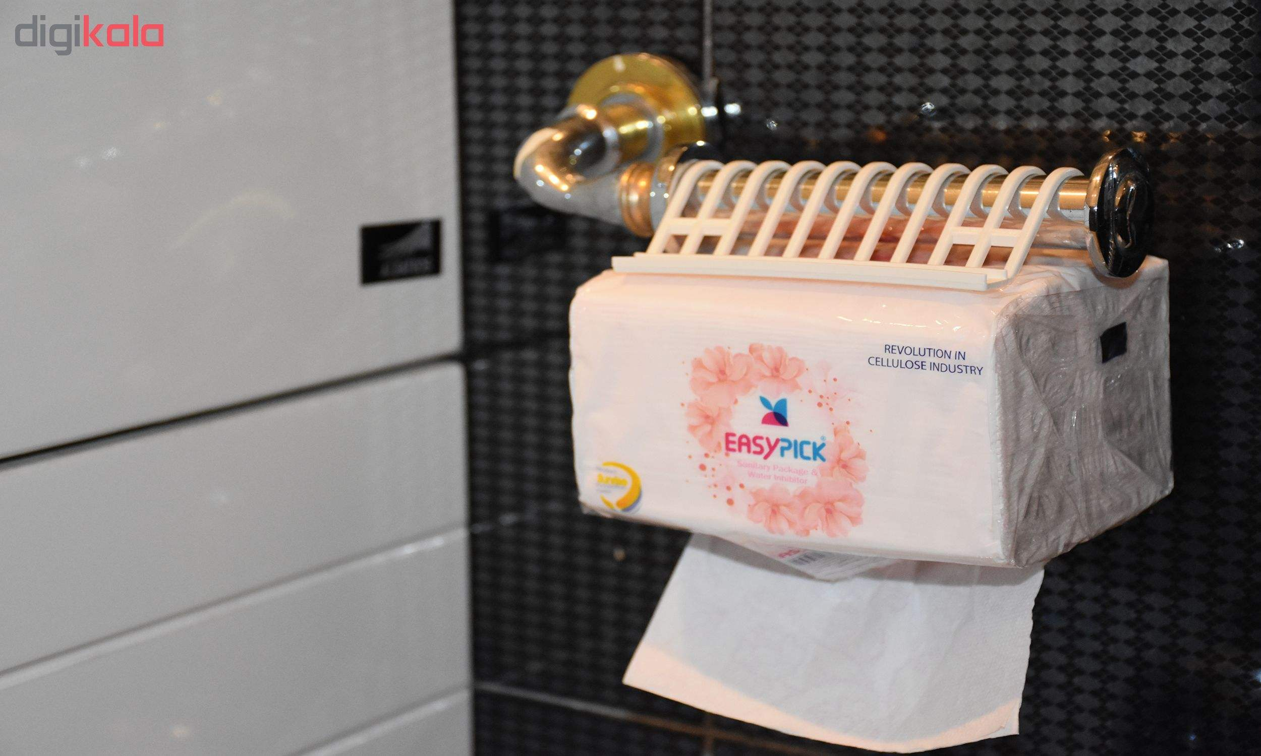 دستمال توالت 50 برگ ایزی پیک مدل New بسته 4 عددی main 1 1