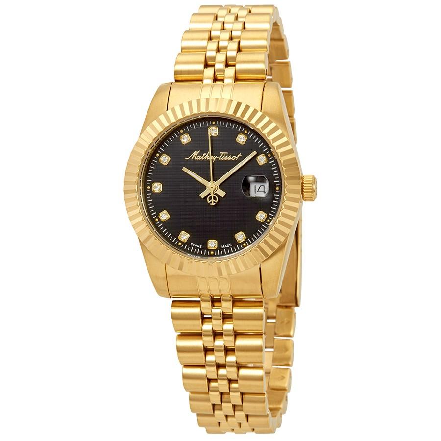 ساعت مچی عقربه ای زنانه متی تیسوت مدل D810PN