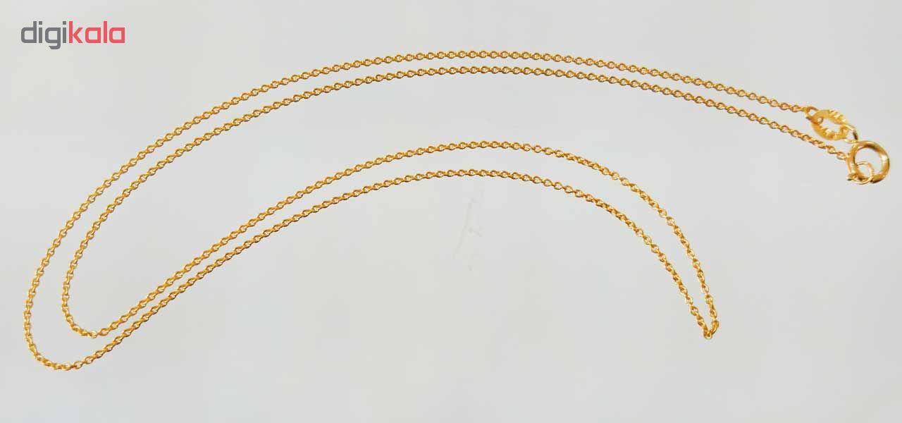 زنجیر طلا 18 عیار کانیار گالری مدل Z1