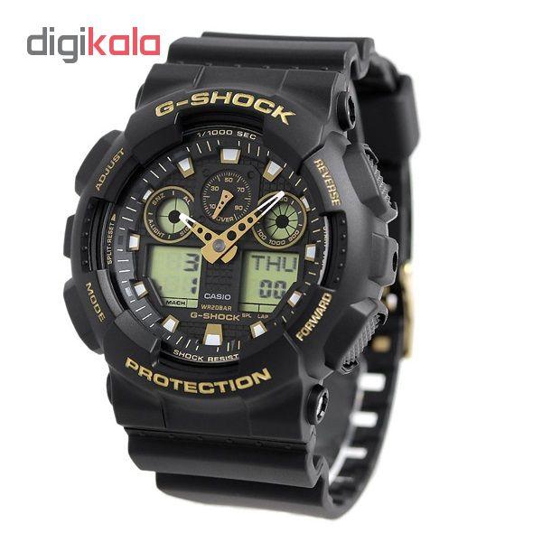 خرید ساعت مچی عقربه ای مردانه کاسیو GA-100GBX-1A9DR