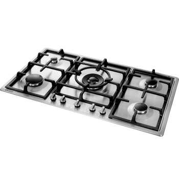 اجاق گاز 5 شعله استیل مدل S-5902(44×520×915 میلیمتر) | Steel Alborz Kitchen Appliances