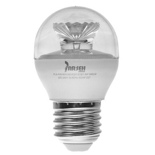 لامپ ال ای دی 6 وات پارسه شید مدل PL6-P45 پایه E27