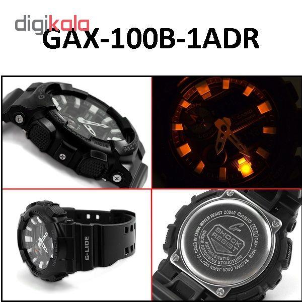 خرید ساعت مچی عقربه ای مردانه کاسیو GAX-100B-1ADR | ساعت مچی