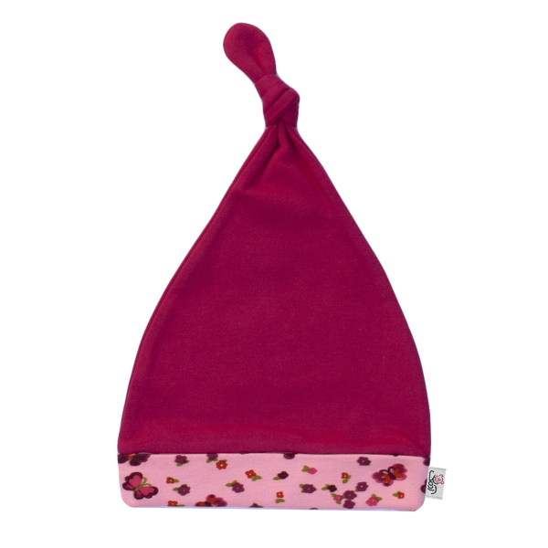 کلاه نوزادی آدمک طرح پروانه