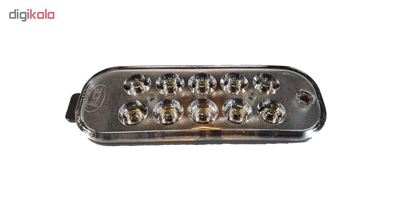 چراغ مه شکن مدل Galleria-PRD021 مناسب برای پراید main 1 2