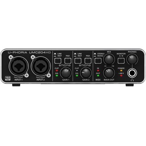 کارت صدای استودیو بهرینگر مدل UMC204HD