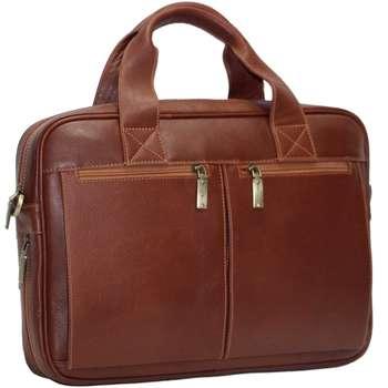 کیف اداری چرم طبیعی آدین چرم مدل DL35