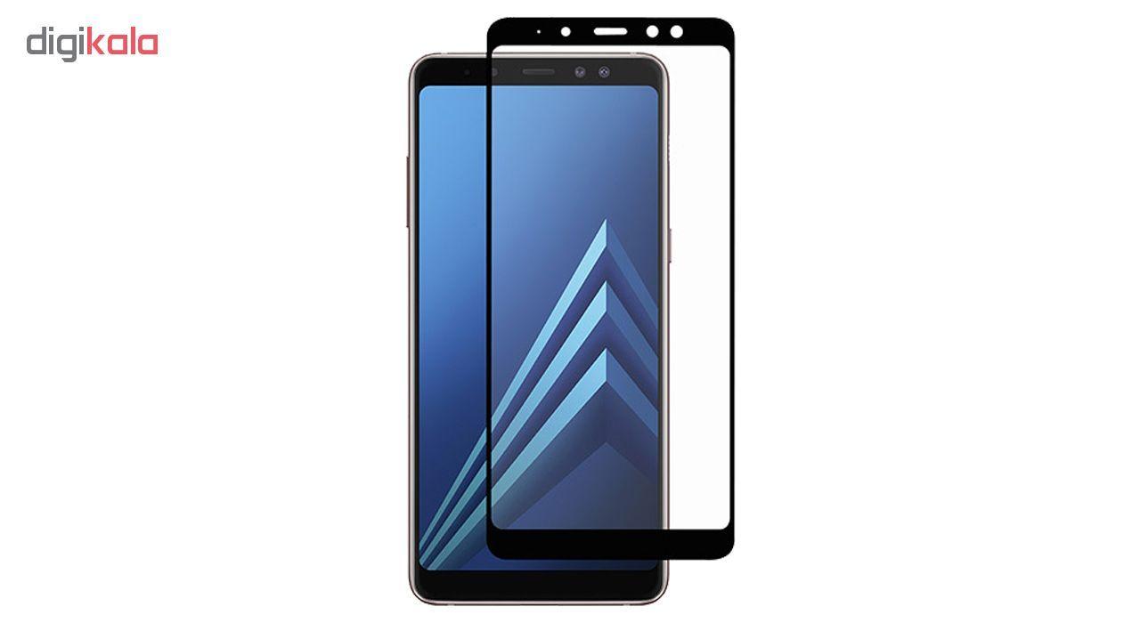 محافظ صفحه نمایش 5D  مدل D-24  مناسب برای گوشی موبایل سامسونگ Galaxy A7 2018 main 1 1