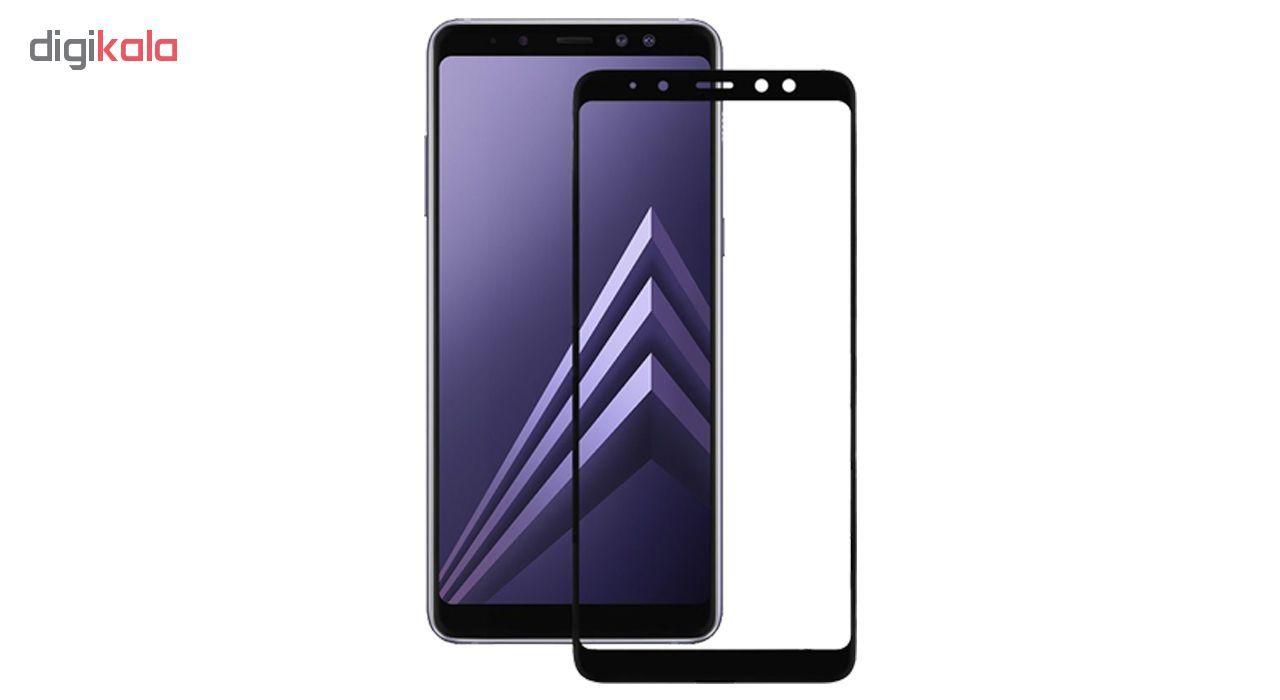 محافظ صفحه نمایش 5D  مدل D-24  مناسب برای گوشی موبایل سامسونگ Galaxy A7 2018 main 1 2