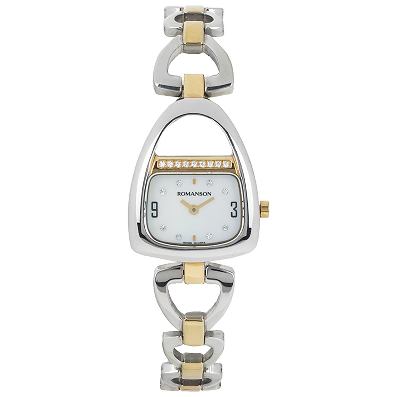 کد تخفیف                                      ساعت مچی عقربه ای زنانه رومانسون مدل RM1207QL1CM11G